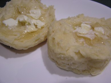 biscuit, butter & honey goodness